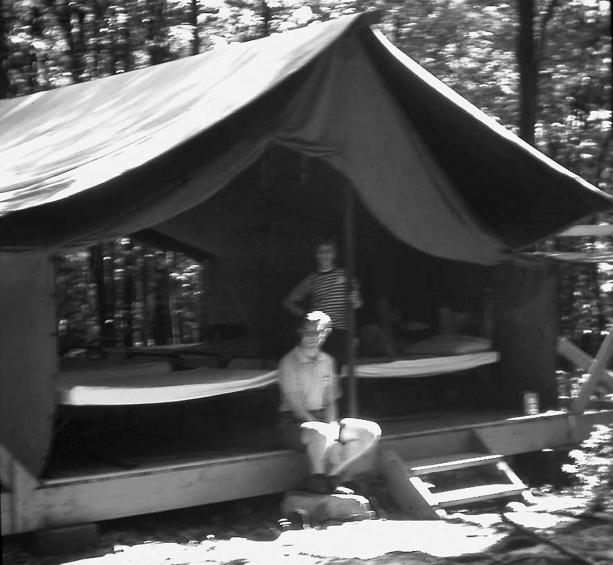 1970's Girl Scout Tent
